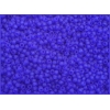 Seedbead Transparent Dark Blue Matte 10/0
